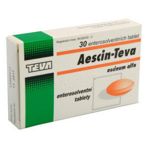 AESCIN TEVA 20MG enterosolventní tableta 30