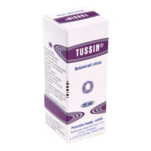 TUSSIN 4,62MG/ML perorální GTT SOL 1X25ML