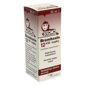 BROMHEXIN KM 12MG/ML perorální GTT SOL 30ML