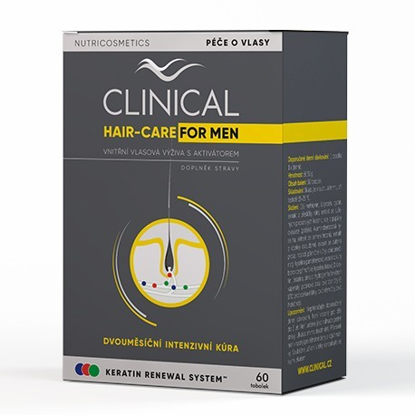 Clinical Hair-Care for MEN tob.60 - 2měs.kúra - II. jakost