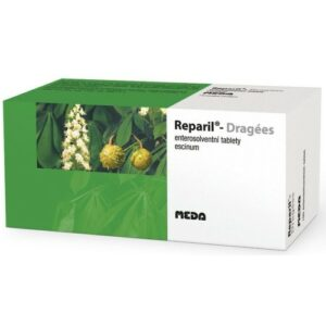 REPARIL- DRAGÉES 20MG enterosolventní tableta 100