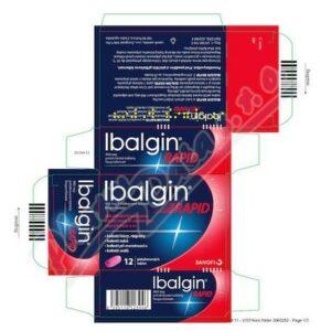 IBALGIN RAPID 400MG potahované tablety 12 I