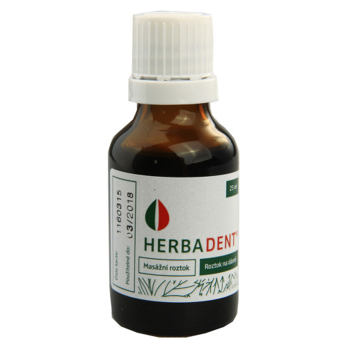 HERBADENT GNG SOL 1X25ML
