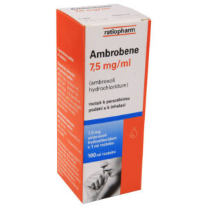 AMBROBENE 7,5MG/ML perorální SOL 100ML