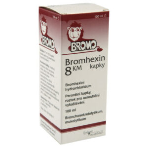 BROMHEXIN KM 8MG/ML perorální GTT SOL 1X100ML