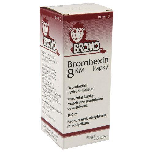 BROMHEXIN KM 8MG/ML perorální GTT SOL 1X100ML