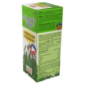 Müllerův sirup s jitrocelem a vitaminem C 320g – II. jakost