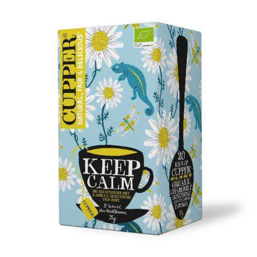 Cupper BIO čaj Keep Calm 20 n.s.