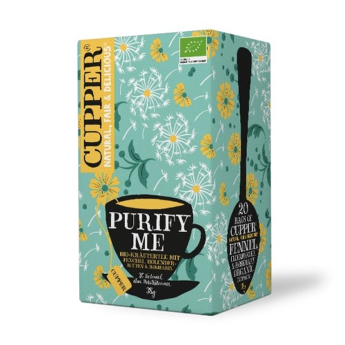 Cupper BIO čaj Purify Me 20 n.s.