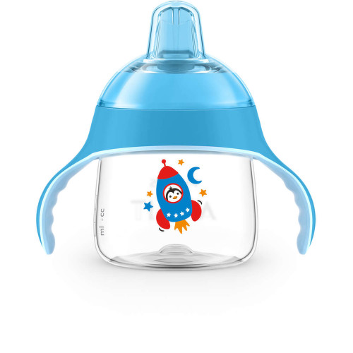 AVENT Hrnek pro 1.doušky Premium 200ml modrý