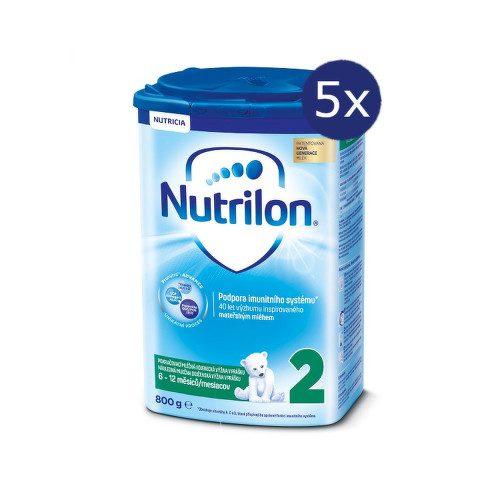 Nutrilon 2 800g - balení 5 ks