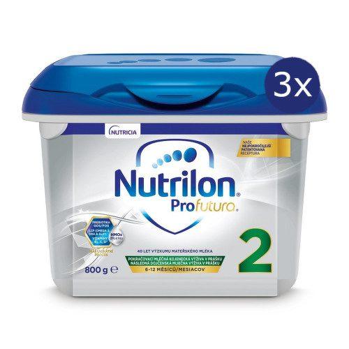 Nutrilon 2 Profutura 800g NOVÝ - balení 3 ks