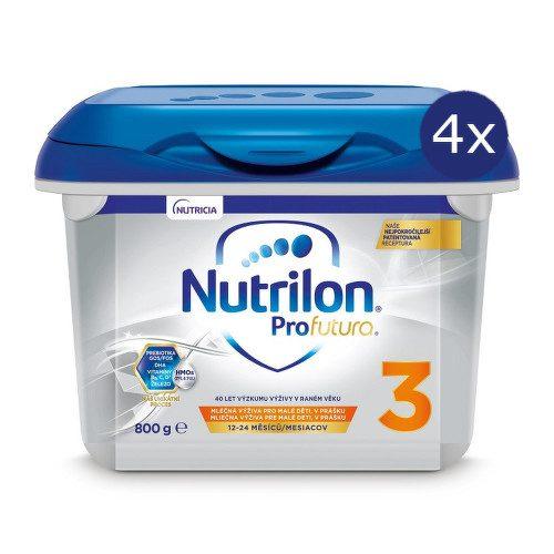 Nutrilon 3 Profutura 800g NOVÝ - balení 4 ks