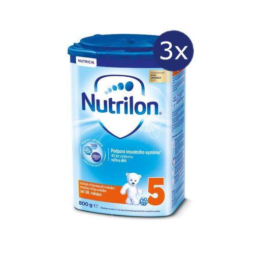 Nutrilon 5 800g - balení 3 ks