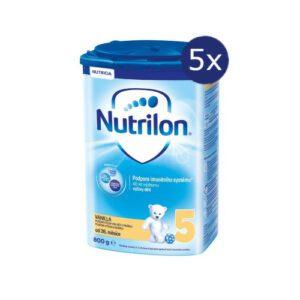 Nutrilon 5 Vanilla 800g – balení 5 ks