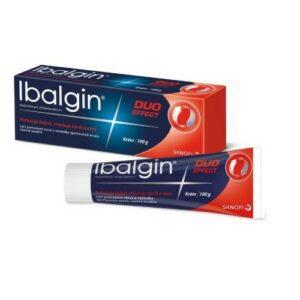 IBALGIN DUO EFFECT 50MG/G+2MG/G krém 100G