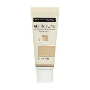 Maybelline Affinitone krycí hydratační make-up 03 Light Sand Beige 30ml
