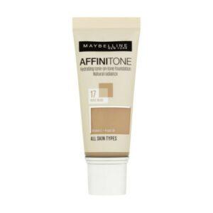 Maybelline Affinitone krycí hydratační make-up 17 Rose Beige 30 ml