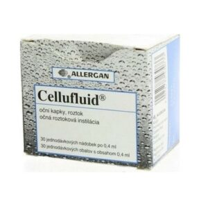 CELLUFLUID 5MG/ML oční podání GTT SOL 30X0,4ML