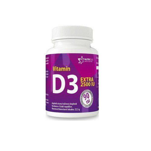 Vitamín D3 EXTRA 2500IU tbl.90
