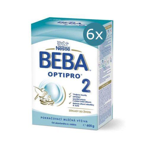 BEBA OPTIPRO 2 600g - balení 6 ks