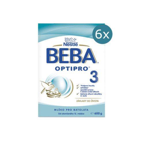 BEBA OPTIPRO 3 600g - balení 6 ks