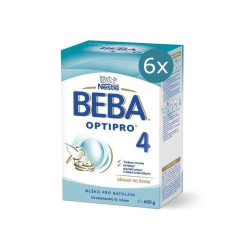 BEBA OPTIPRO 4 600g - balení 6 ks