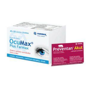 Ocumax Plus Farmax dárkové balení tob.60