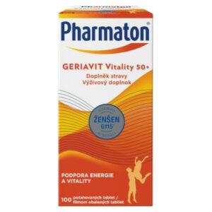 Pharmaton Geriavit Vitality 50+ tbl.100 – SANOFI