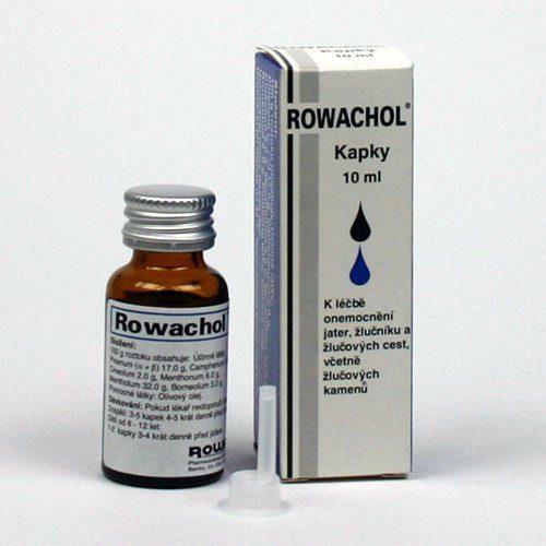ROWACHOL perorální GTT SOL 10ML