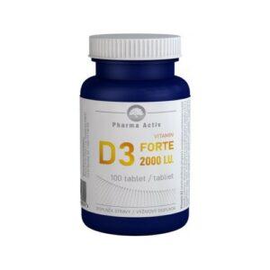 Vitamin D3 FORTE 2000 I.U. tbl.100