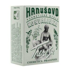 Hanušovo kosmetické mýdlo KONVALINKA 100g