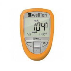 Wellion LUNA TRIO set glukomet žlutý