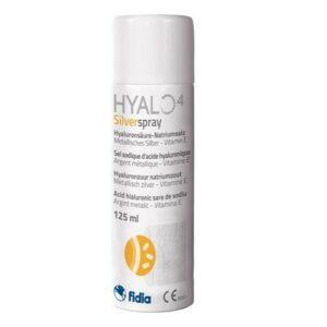 HYALO4 SILVER SPRAY 125 ML SUSPENZNÍ SPREJ S KYSELINOU HYALURONOVOU K OŠETŘEN