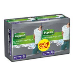 Depend Normal inkont.kalh.muži Duopack S/M 2x10ks