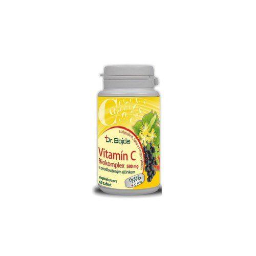 Vitamín C Biokomplex 500mg 60 tbl. Dr.Bojda
