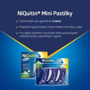 NIQUITIN MINI 4MG lisovaná pastilka 3X20