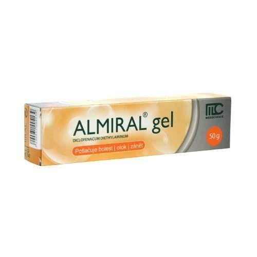 ALMIRAL 10MG/G gel 50G