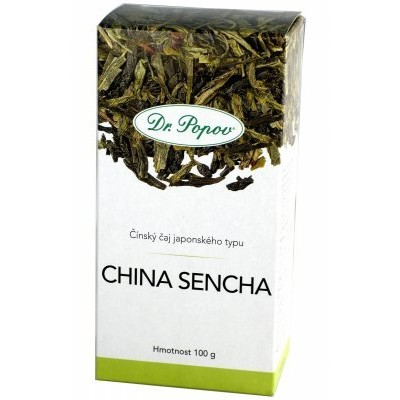 Dr.Popov Čaj China Sencha zelený 100g