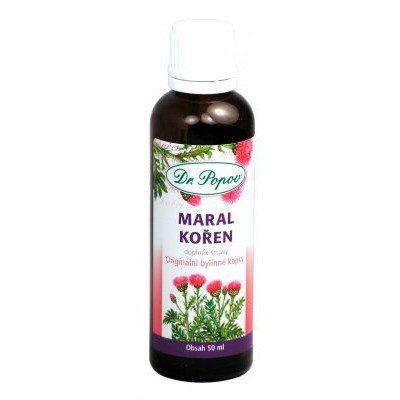 Dr.Popov Kapky bylinné Maral kořen 50ml