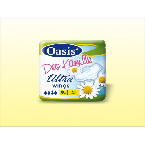 DHV Oasis Kamille ultra deo singel 9ks