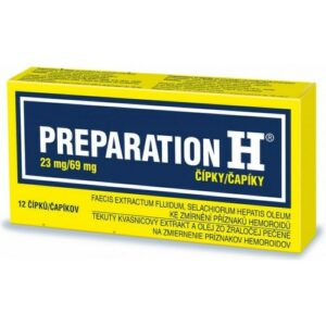 PREPARATION H 23MG/69MG čípek 12 I