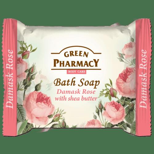 Mýdlo Damašská růže s bambusovým máslem 100g
