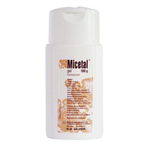 MICETAL 10MG/G gel 100G