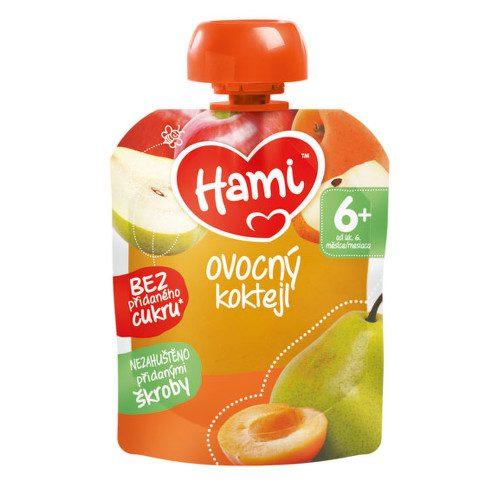Hami příkrm OK Ovocný koktejl 90g C-48