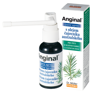 Anginal ústní sprej s TTO 30ml Dr.Müller
