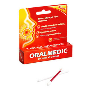 Oralmedic 2 aplikátory 2×0.2ml
