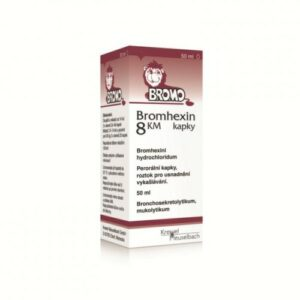 BROMHEXIN KM 8MG/ML perorální GTT SOL 1X20ML