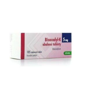 BISACODYL-K 5MG obalené tablety 105