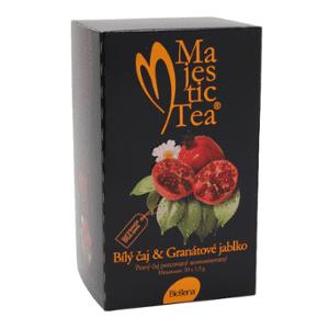 Čaj Majestic Tea Bílý čaj+Granát.jabl. n.s.20×1.5g